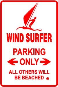 Parking pour windsurfeurs